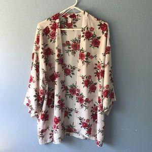 Floral H&M Large Kimono